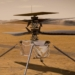 Concepção artística do veículo voador Ingenuity da Mars2020 © NASA/JPL-Caltech